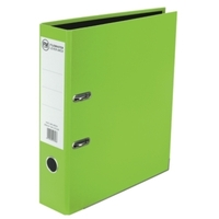 FM A4 Vivid Lever Arch - Lime Green