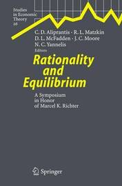 Rationality and Equilibrium image