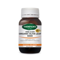 Thompsons One-A-Day Organic Olive Leaf 5000mg (60 Capsules)