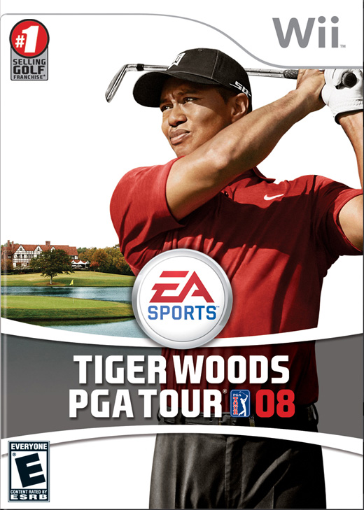 Tiger Woods PGA Tour 08 for Nintendo Wii image
