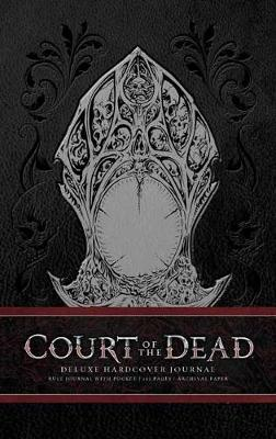 Court of the Dead Hardcover Ruled Journal by Jacob Murray