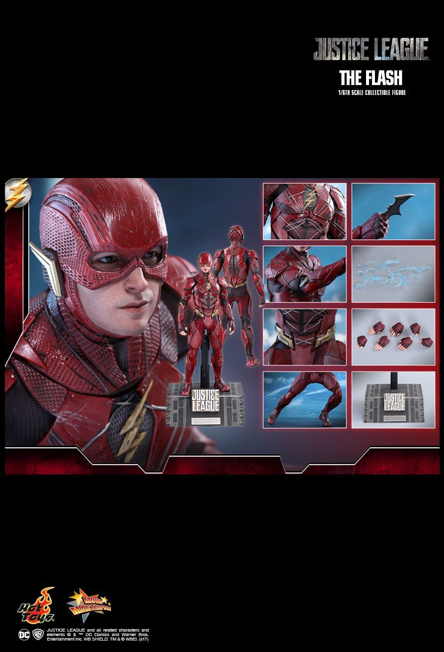 """Justice League: The Flash - 12"""" Articulated Figure image"""