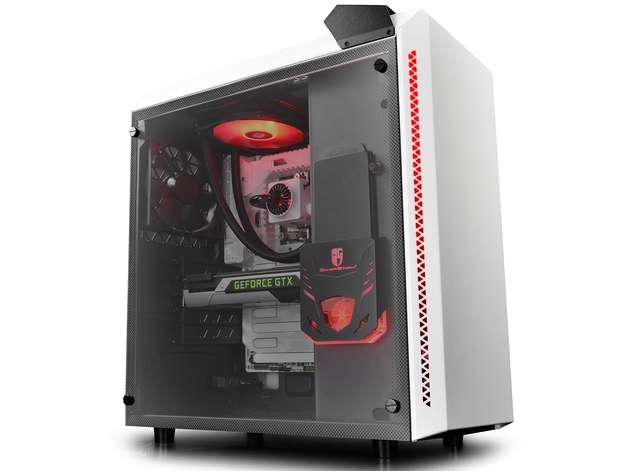 Deepcool: Baronkase Case Liquid Cooling System - White