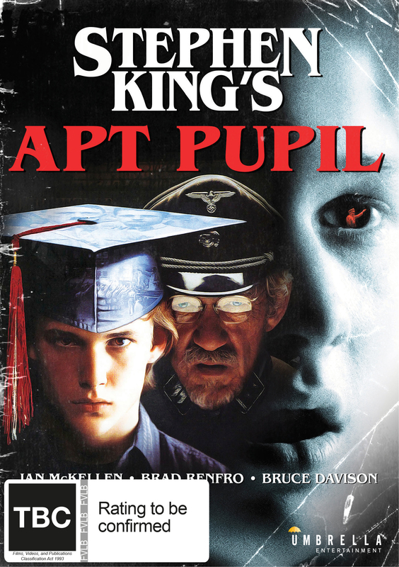 Stephen King's Apt Pupil on DVD