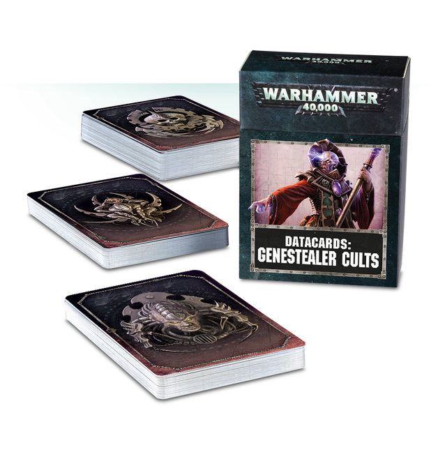Warhammer 40,000 Datacards: Genestealer Cults
