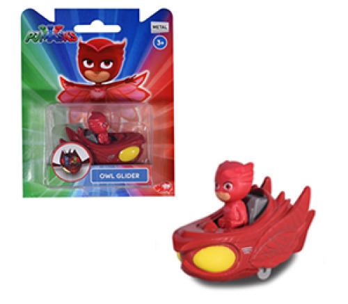 PJ Masks: Die-Cast Mini-Vehicle - Owlette