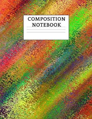 Composition Notebook by Abstract Designs