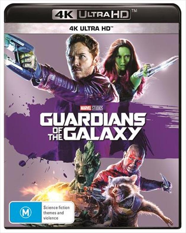 Guardians Of The Galaxy (4K UHD) on UHD Blu-ray