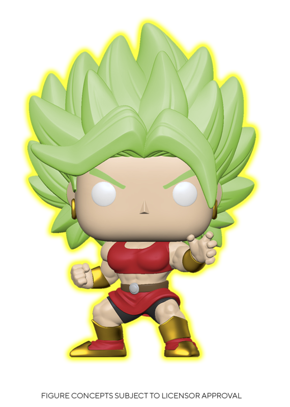Dragon Ball Super - SS Kale (Glow) Pop! Vinyl Figure