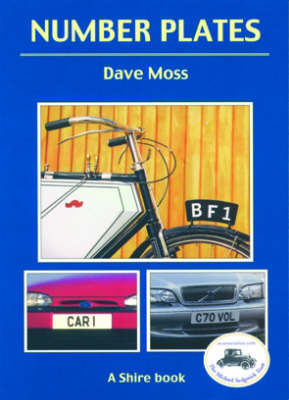 Number plates by Dave Moss