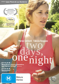 Two Days, One Night on DVD