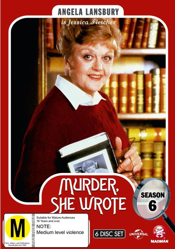 Murder, She Wrote - Season 6 on DVD