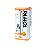 Pamol All Ages Orange Pain and Fever Relief Colour Free (100ml)