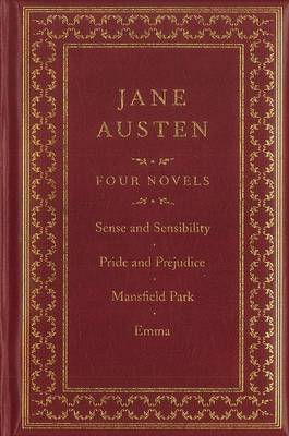 Jane Austen: Four Novels: Sense and Sensibility/Pride and Prejudice/Emma/Northanger Abbey by Jane Austen image