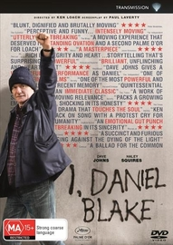 I, Daniel Blake on DVD