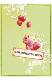 Papaya Gift Card - Happy Birthday Squirrel