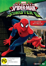 Ultimate Spider-Man - Hydra Attacks on DVD