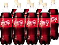 Vanilla Coke Soft Drink (1.5l X 8)