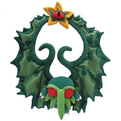 Cthulhu - Plush Christmas Wreath