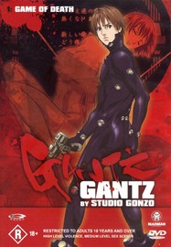 Gantz - Vol 1: Game Of Death on DVD image