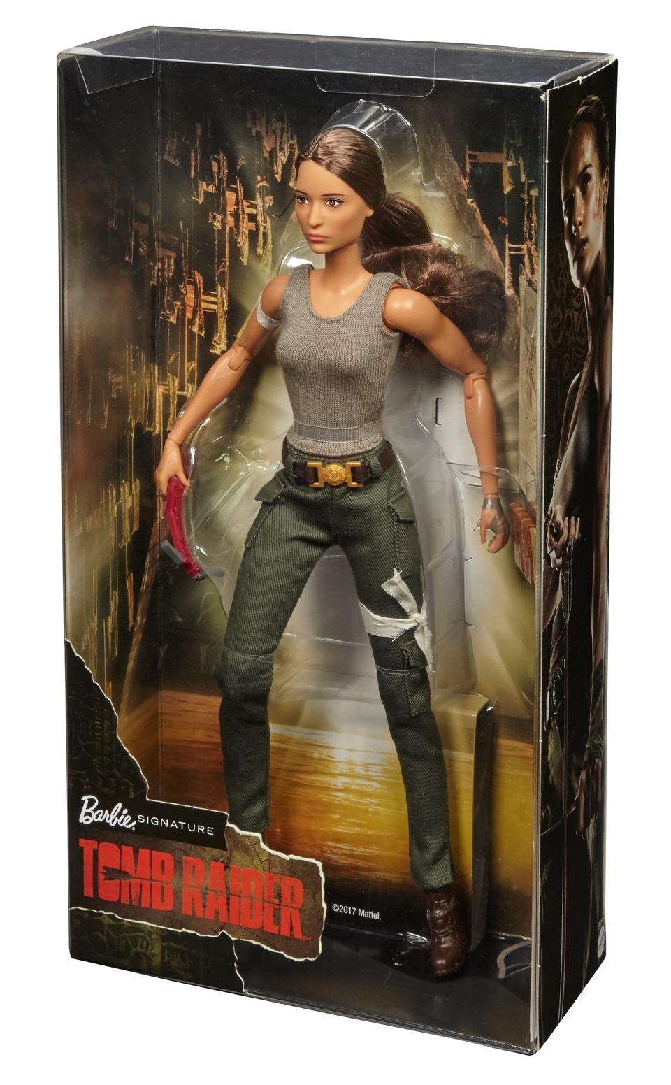 Barbie: Tomb Raider - Lara Croft Doll image