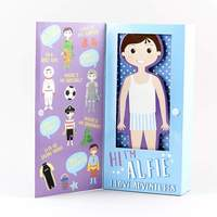 Floss & Rock: Magnetic Dress Up Character - Alfie