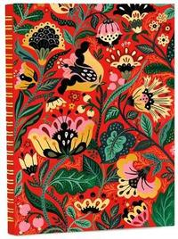 High Note: Dinara's Vibrant Floral Non-Dated A5 Weekly Notebook Diary by Dinara Mirtalipova