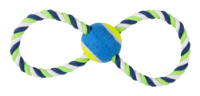 Pawise: Figure 8 Rope and Tennis Ball