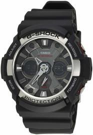 Casio G-Shock Analogue/Digital Mens Black Watch GA200-1A GA-200-1ADR image