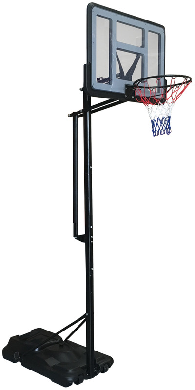Silver Fern Portable & Adjustable Basketball System Stand