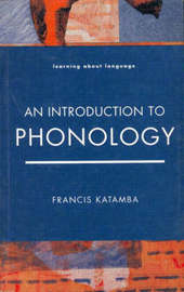 Introduction to Phonology by Francis Katamba image