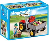 Playmobil: Country Harvesting Tractor (6131)