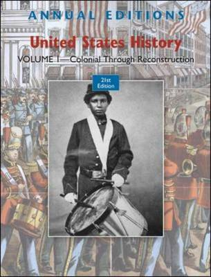 Annual Editions: United States History: Volume 1 by Robert James Maddox