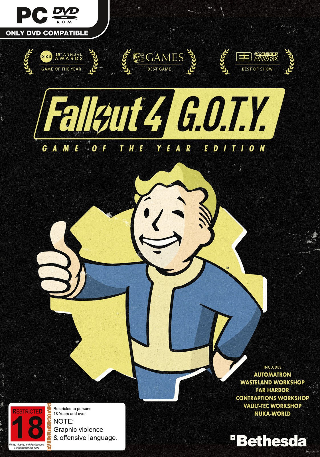 Fallout 4 Game of the Year Edition for PC Games image
