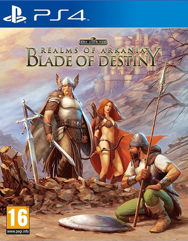 Realms Of Arkania Blade Of Destiny for PS4