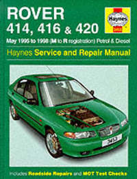 Rover 400 Series (95-98) Service and Repair Manual by A.K. Legg