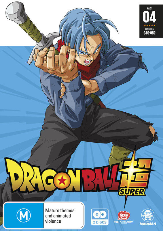 Dragon Ball Super Part 4 (eps 40-52) on DVD