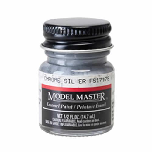 Testors: Enamel Paint - Chrome Silver (Flat)