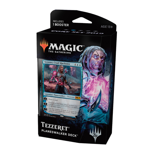Magic The Gathering: M19 Tezzeret Planeswalker Deck