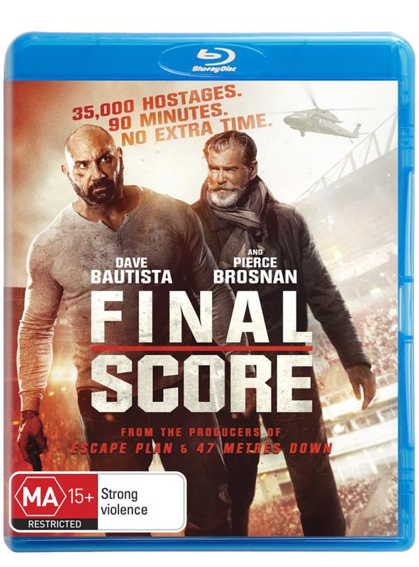 Final Score on Blu-ray