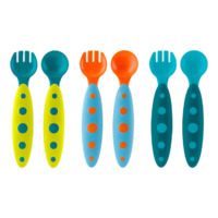 Boon Modware Utensils - Blue (3pk)