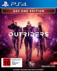 Outriders Day One Edition for PS4