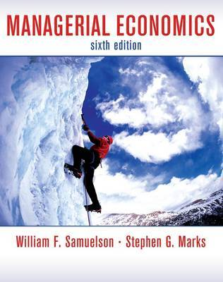 Managerial Economics by William F. Samuelson image