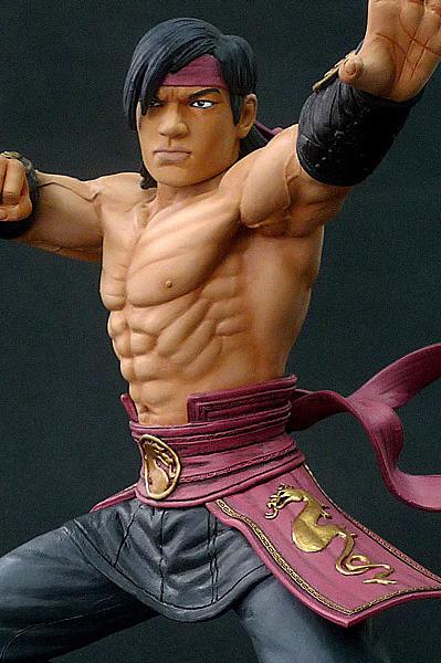 Mortal Kombat 10'' Polystone Statue - Liu Kang image