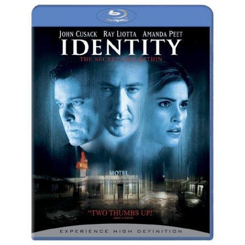 Identity on Blu-ray