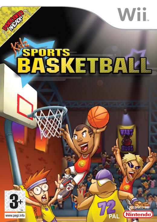 Kidz Sports Basketball for Wii