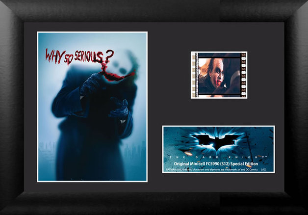 FilmCells: Mini-Cell Frame - The Dark Knight (Why so Serious?)