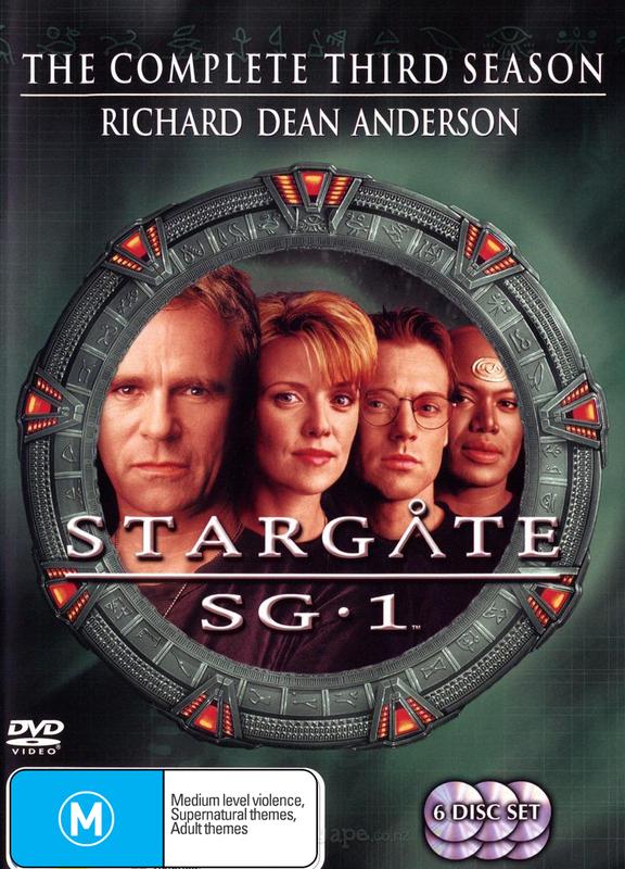 Stargate SG-1 - Season 3 on DVD