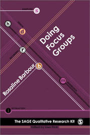 Doing Focus Groups by Rosaline S. Barbour image