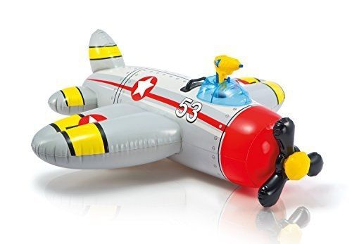 Intex: Water Gun Plane Ride-On - Grey